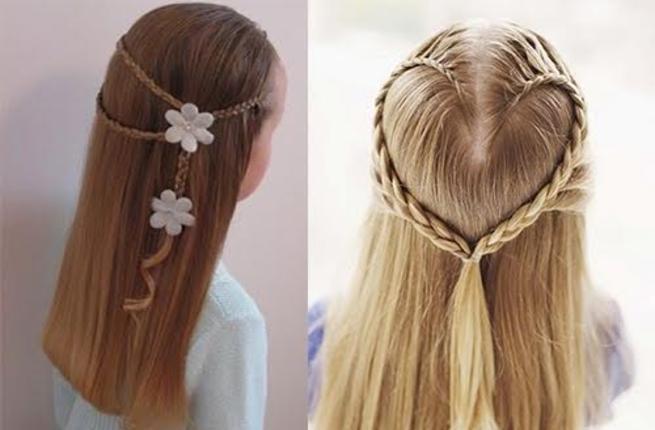 صورة موديلات شعر بسيطة , تسريحات شعر بسيطة وروعة