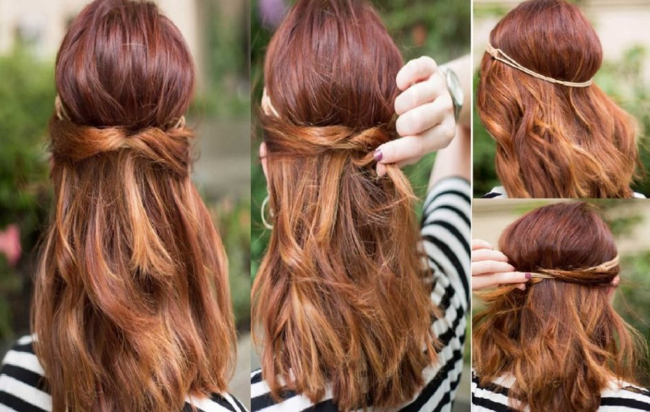 بالصور موديلات شعر بسيطة , تسريحات شعر بسيطة وروعة 5295 2