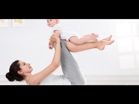بالصور تمارين شد البطن بعد الولادة , ازاى تكونى رشيقه بعد الولاده 5772 3