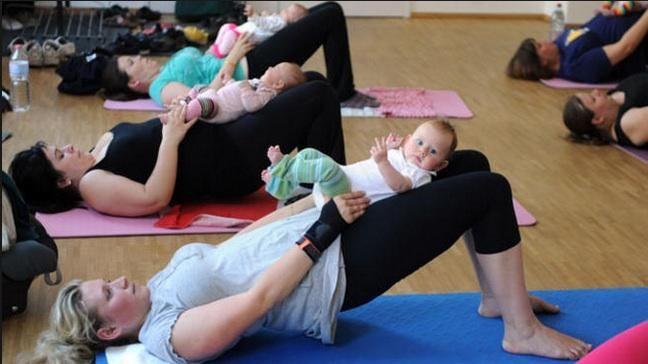 بالصور تمارين شد البطن بعد الولادة , ازاى تكونى رشيقه بعد الولاده 5772 4