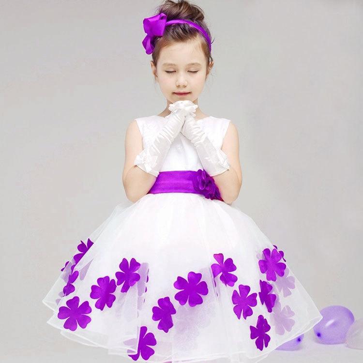 بالصور فساتين سهرة للاطفال , تالقى بجمال طفلك بمجموعه من فساتين السهره 6046 1