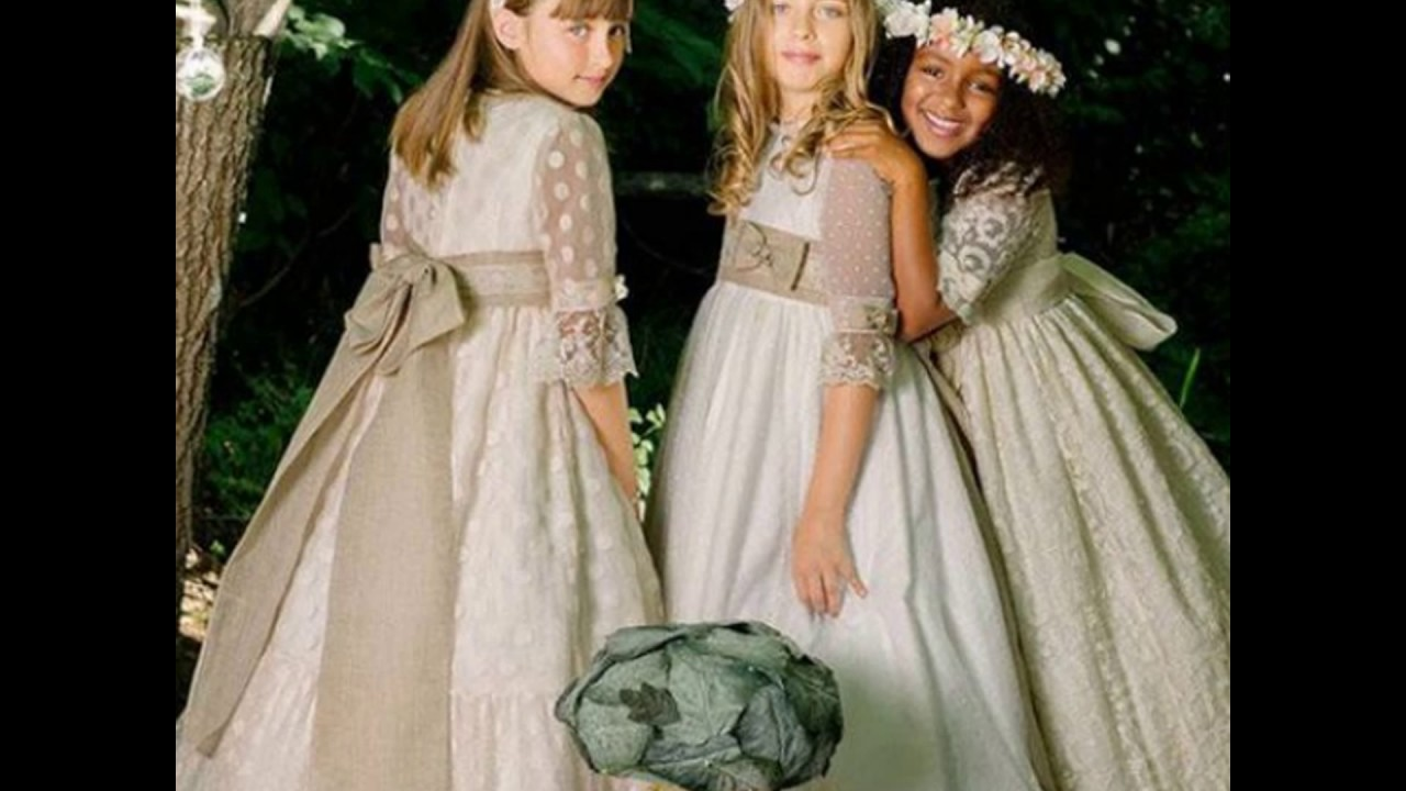 بالصور فساتين سهرة للاطفال , تالقى بجمال طفلك بمجموعه من فساتين السهره 6046 2