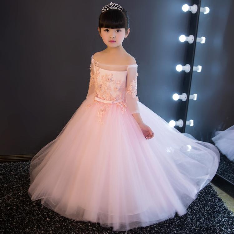 بالصور فساتين سهرة للاطفال , تالقى بجمال طفلك بمجموعه من فساتين السهره 6046 3