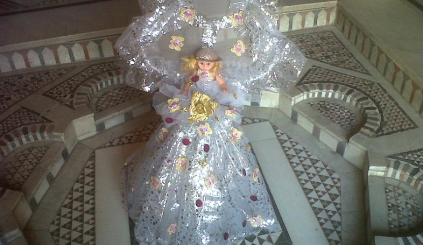 بالصور صور عروسه المولد , فرحه الاطفال بعروسه المولد 6079 3
