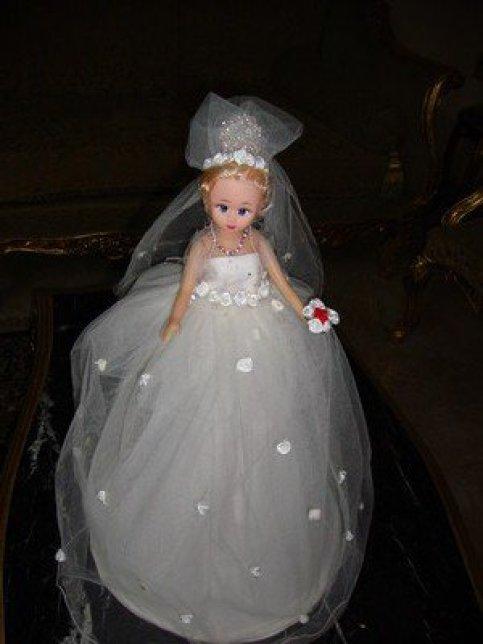 صورة صور عروسه المولد , فرحه الاطفال بعروسه المولد