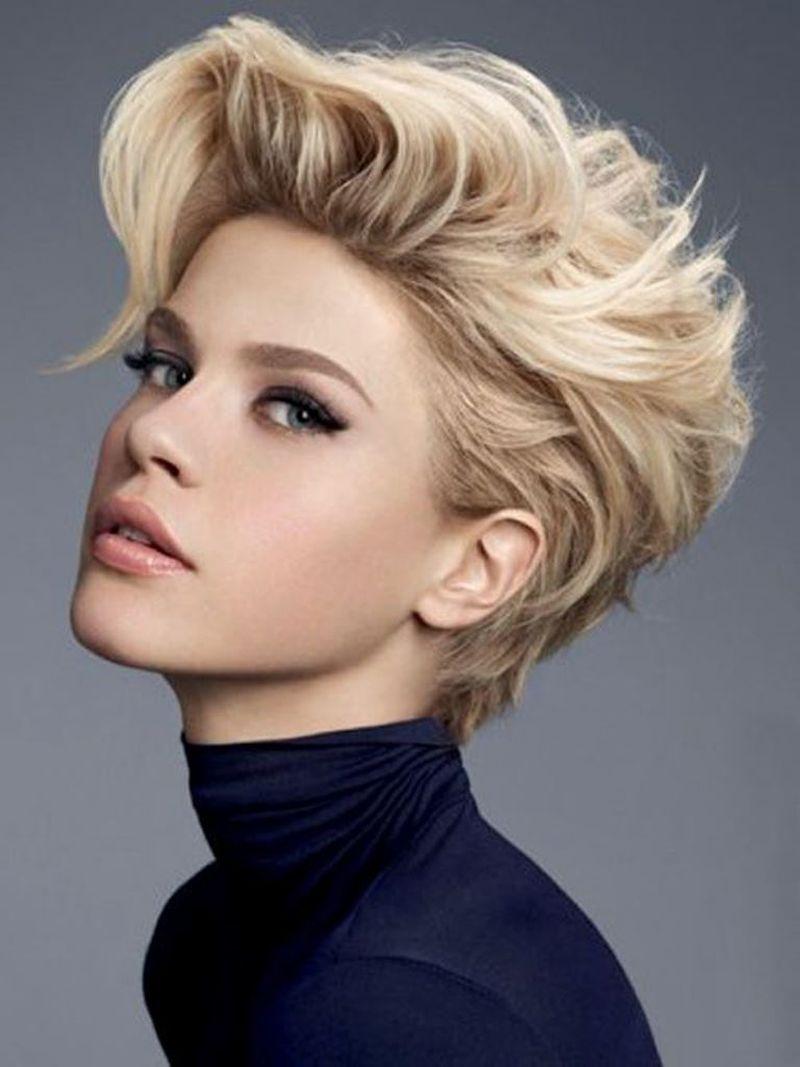 بالصور قصات شعر قصير جدا , لوك جديد ب اجمل قصات الشعر القصير جدا 6245 2