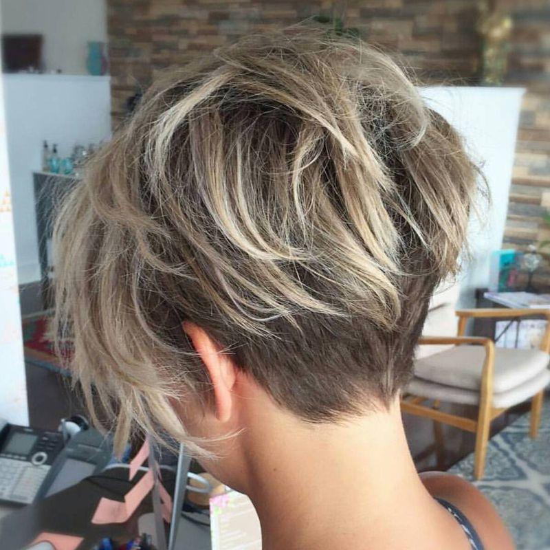 بالصور قصات شعر قصير جدا , لوك جديد ب اجمل قصات الشعر القصير جدا 6245 6