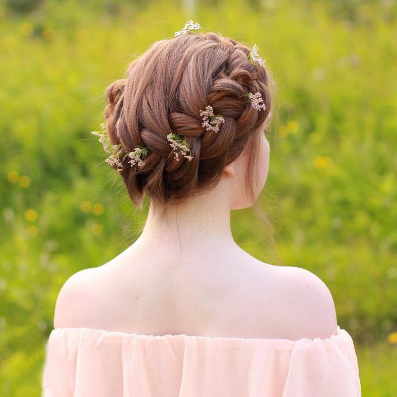 بالصور تسريحات شعر بنات كبار , تالقى ب اجمل واروع تسريحات الشعر 6247