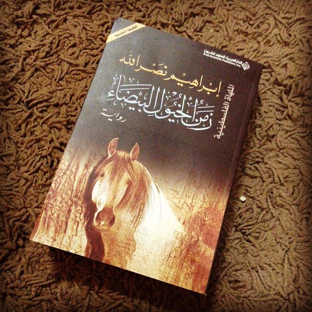 صورة زمن الخيول البيضاء , رواية فلسطينية