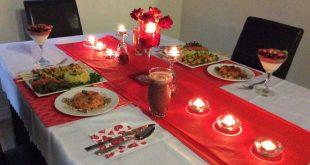 صور افكار لعشاء رومانسي , خطوات لاكلات رومانسية