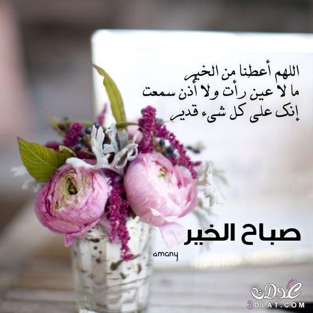 صورة اجمل صباح الخير , كلمات للصباح