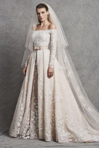 صورة فساتين زفاف زهير مراد 2019 , صور من افضل الصور لفساتين الزفاف لزهير مراد