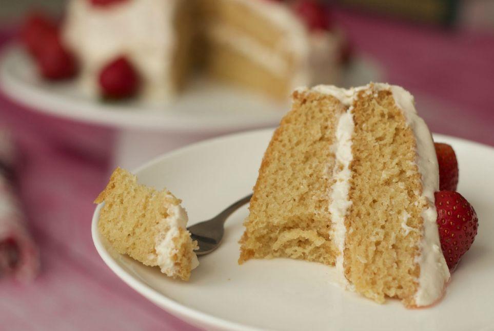 بالصور طريقة عمل الكيكة الاسفنجية بالصور , طريقة الكيكة الاسفنجية 5258 8