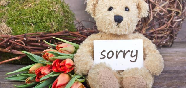 بالصور رسالة اعتذار لصديق , اروع عبارات الاعتذار 5719 2
