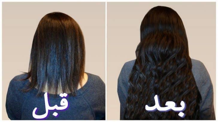 صورة خلطات تطويل الشعر , خلطة رهيبة لتطويل الشعر