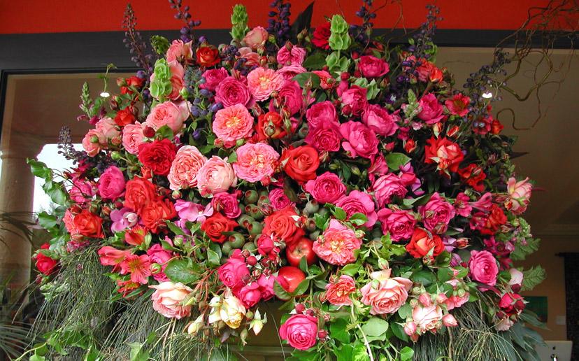 بالصور اجمل بوكيه ورد فى الدنيا , جمال الورد واشكاله والوانه 5947 5