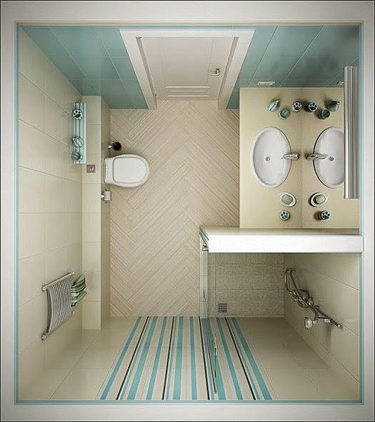 بالصور ديكور حمامات صغيرة , اجمل ديكورات الحمامات 6237 9
