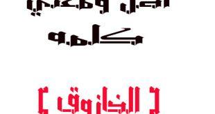 صور معاني الكلمات العربية , فضل اللغه العربيه