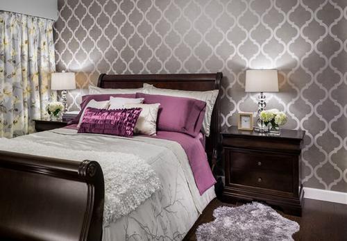 بالصور ورق جدران لغرف النوم , اشكال ورق خائط لغرف النوم 1776 11