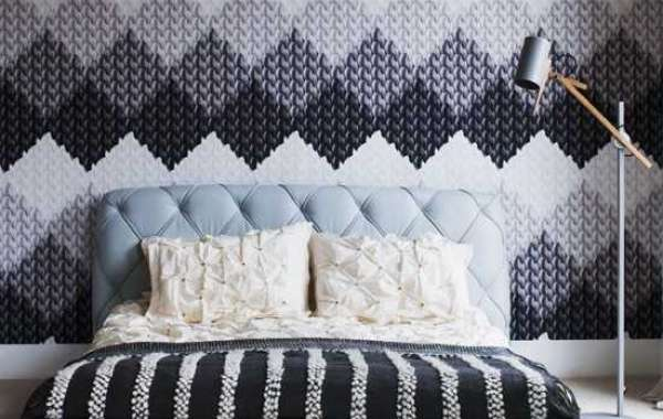 بالصور ورق جدران لغرف النوم , اشكال ورق خائط لغرف النوم 1776 2