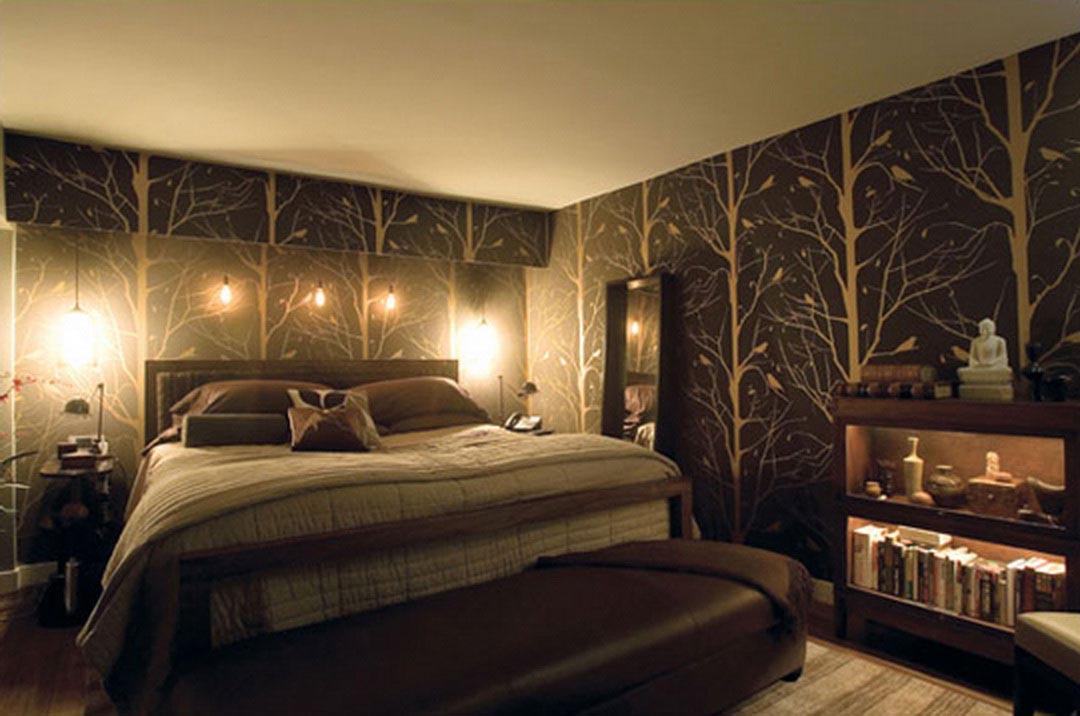 بالصور ورق جدران لغرف النوم , اشكال ورق خائط لغرف النوم 1776 4