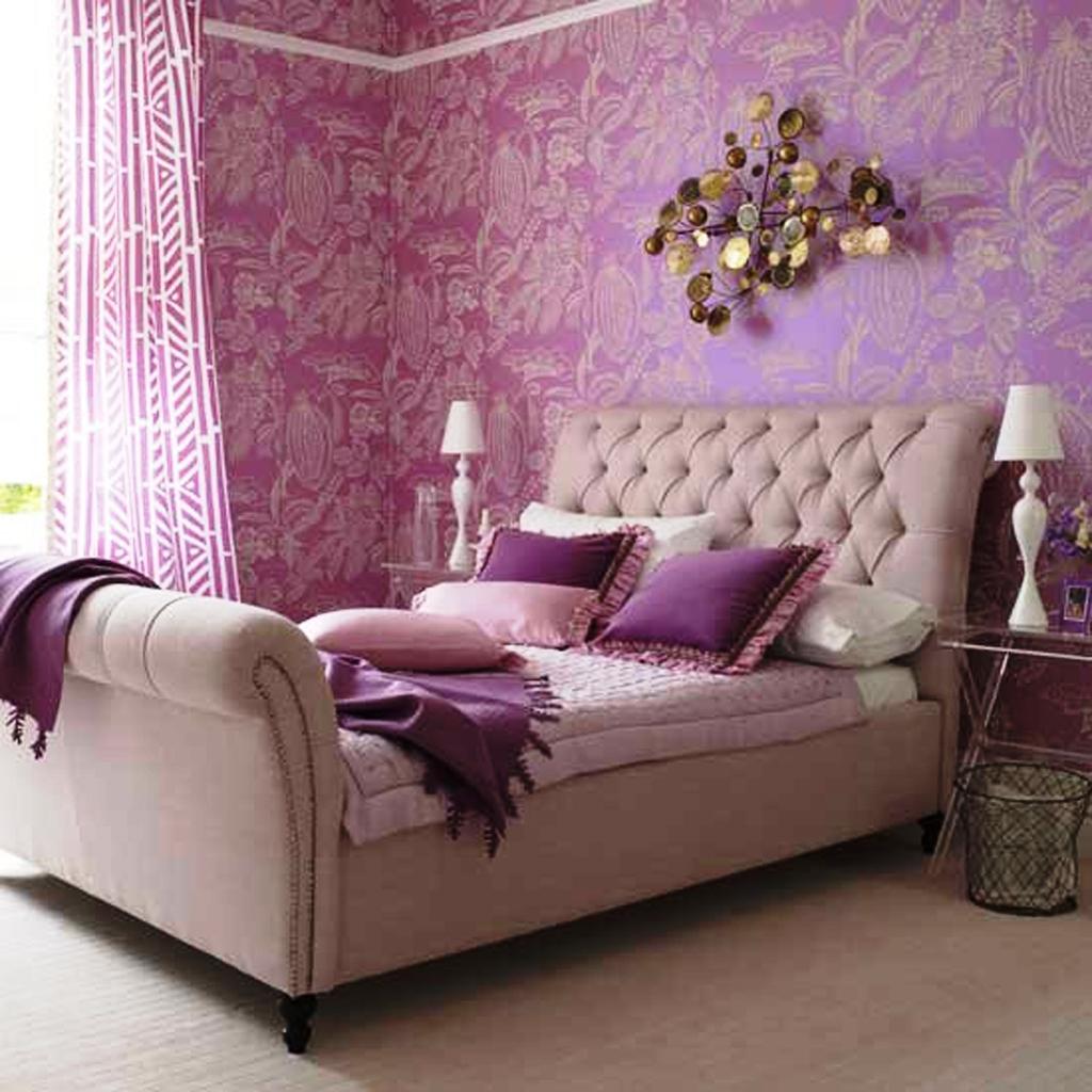 بالصور ورق جدران لغرف النوم , اشكال ورق خائط لغرف النوم 1776 5