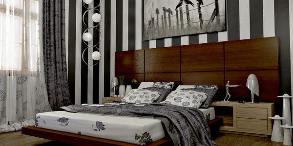بالصور ورق جدران لغرف النوم , اشكال ورق خائط لغرف النوم 1776 6
