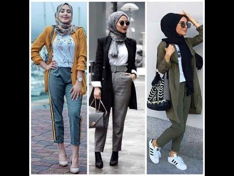 صور موضة 2019 للمحجبات , اخر صيحات الحجاب