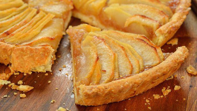 صورة طريقة عمل فطيرة التفاح , فطيره التفاح اللذيذه