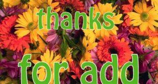 بالصور شكرا على قبول الصداقة , احتفي باصدقائك الجدد باجمل الصور 2751 9 310x165