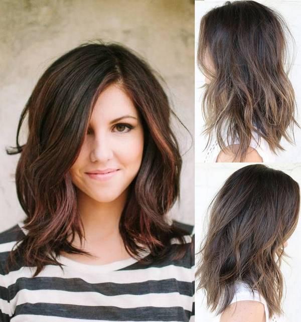 بالصور قصات شعر متوسط , لمحبات الشعر متوسط الطول اليكي احدث التسريحات 2846 2