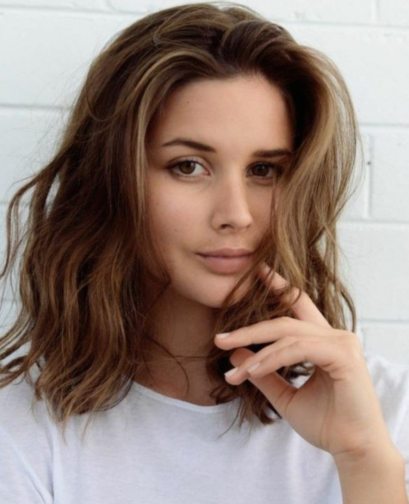 بالصور قصات شعر متوسط , لمحبات الشعر متوسط الطول اليكي احدث التسريحات 2846 4