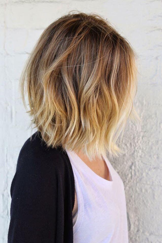 بالصور قصات شعر متوسط , لمحبات الشعر متوسط الطول اليكي احدث التسريحات 2846 5