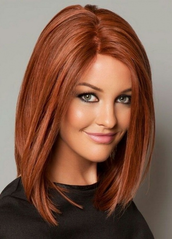 بالصور قصات شعر متوسط , لمحبات الشعر متوسط الطول اليكي احدث التسريحات 2846 8