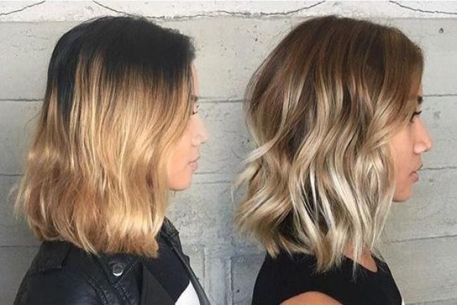 بالصور قصات شعر متوسط , لمحبات الشعر متوسط الطول اليكي احدث التسريحات 2846