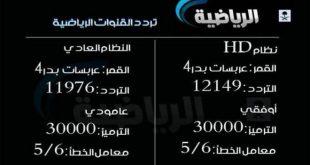 بالصور تردد قناة الرياضية , التردد الجديد لقناة الرياضية السعودية لعشاق كرة القدم 2921 3 310x165