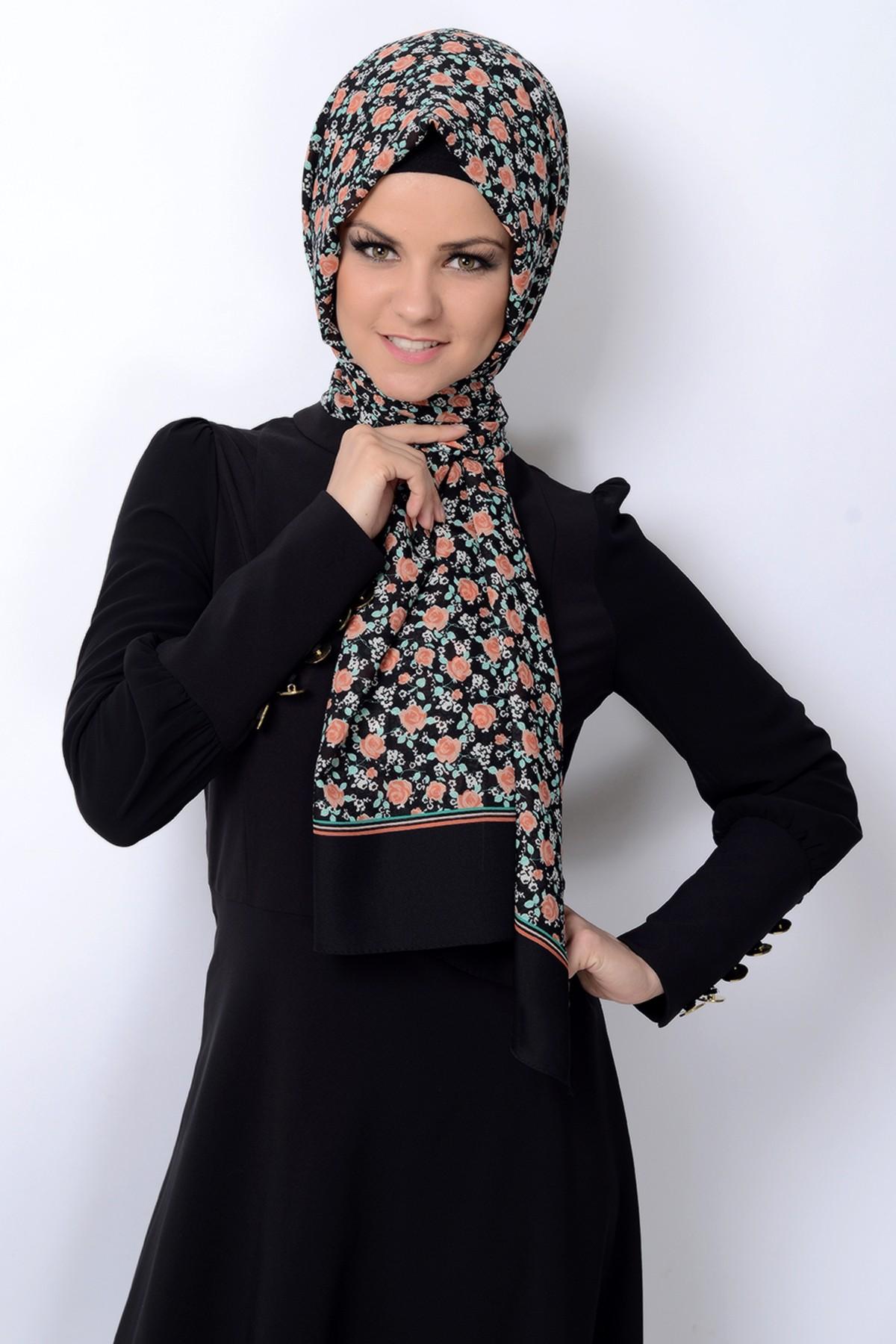 صورة صور حجابات , اجدد استايلات الحجابات 4013 6