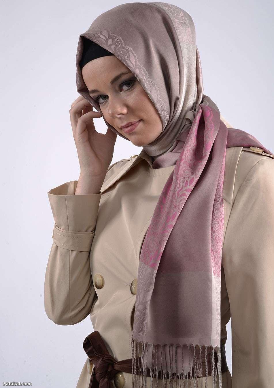 صورة صور حجابات , اجدد استايلات الحجابات 4013 8