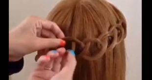 صوره تزيين الشعر , طرق بسيطه جدا لتزين الشعر