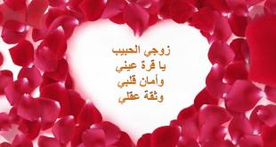 صوره كلمات حب للزوج قبل النوم , اجمل كلمات الحب للزوج قبل النوم