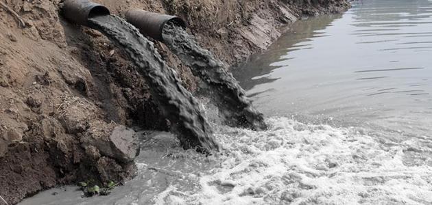 صورة اسباب تلوث الماء , ملوثات الماء الضاره