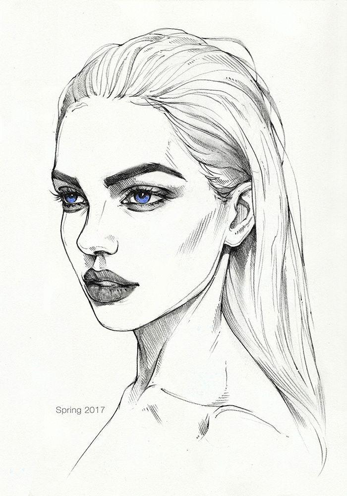 صورة بنات كيوت رسم , رسومات بنات كيوت 4631 1