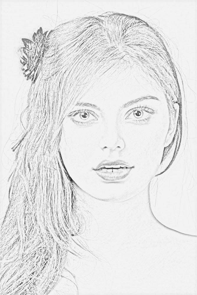 صورة بنات كيوت رسم , رسومات بنات كيوت 4631