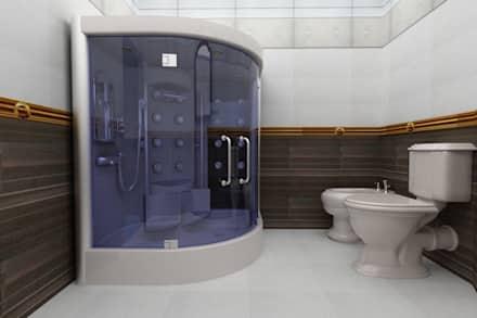 صور حمامات صغيرة , حمامات مناسبه للمساحات الصغيرة