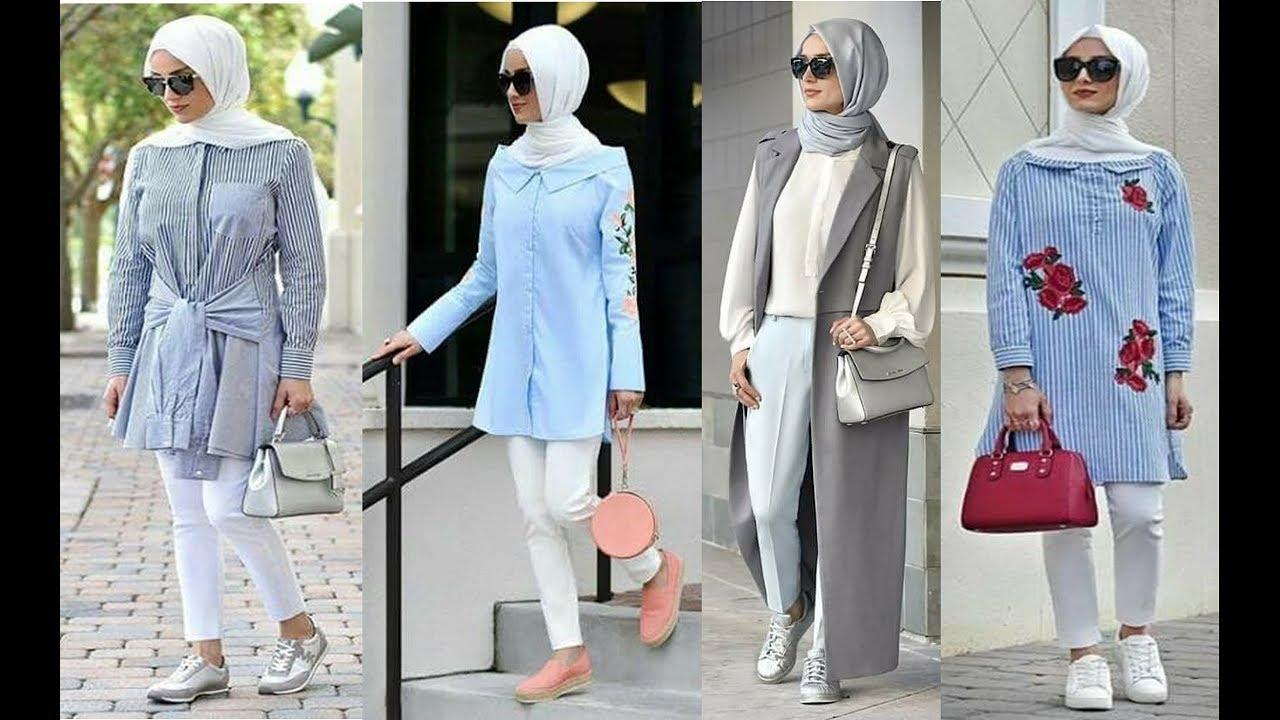 2848fb18e صور ملابس تركية للمحجبات , اشيك و اجدد الملابس التركيه للمحجبات 2019