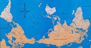 صورة خريطة العالم صماء , معالم الخريطة للعالم