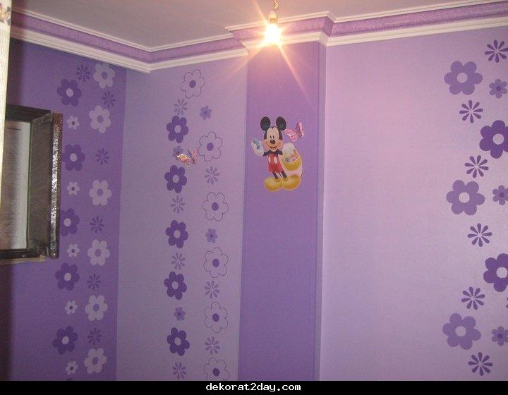 دهانات غرف اطفال ديكورات ودهانات جميلة للاطفال عبارات