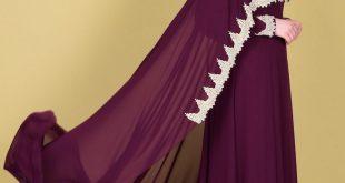 صوره صور فساتين سهرة للمحجبات , احدث موضه الفساتين للمناسبات السعيده