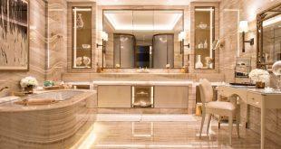 صوره حمامات فنادق , اجمل وافخم حمامات فنادق