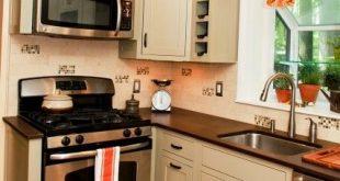 صوره تصاميم مطابخ صغيرة وبسيطة , احدث اشكال مطبخ صغيره